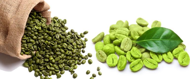 zelená káva a její boby