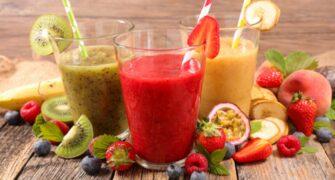 recept na smoothie z ovoce a zeleniny