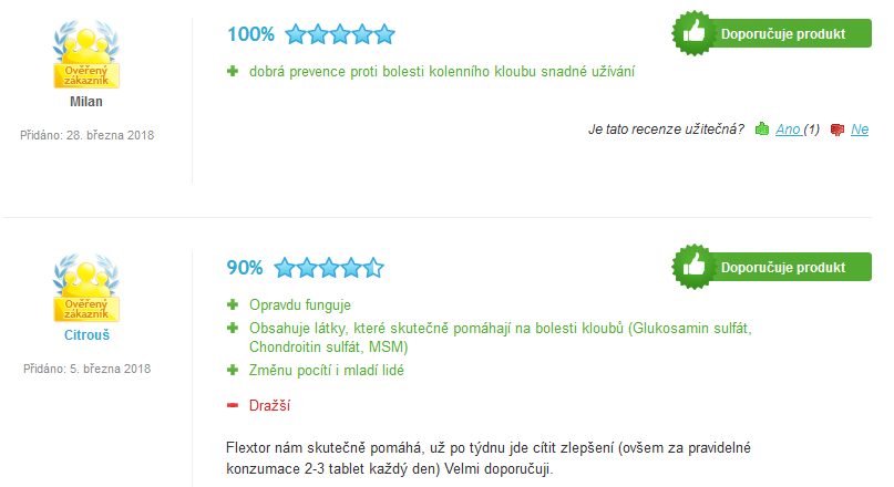 flextor - heureka recenze