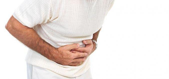 bolest břicha a průjem