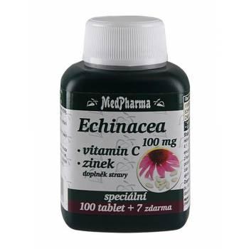 Medpharma Echinacea 100 mg + vitamin C + zinek 107 tablet