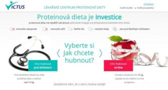 victus proteinová dieta recenze