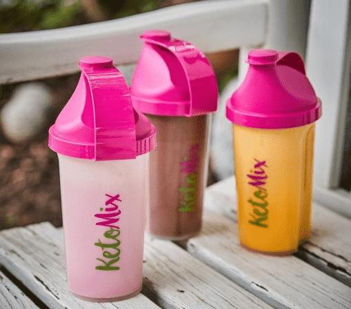ketomix proteinové koktejly příchutě