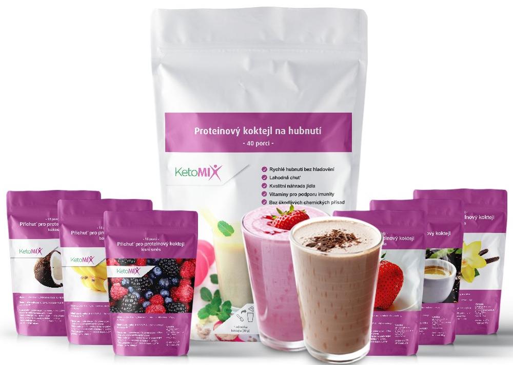 ketomix proteinový koktejl na hubnutí recenze