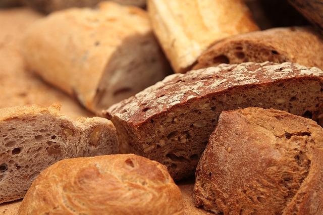proteinová dieta a chleba
