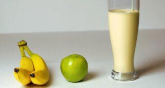 recept na banánové smoothie