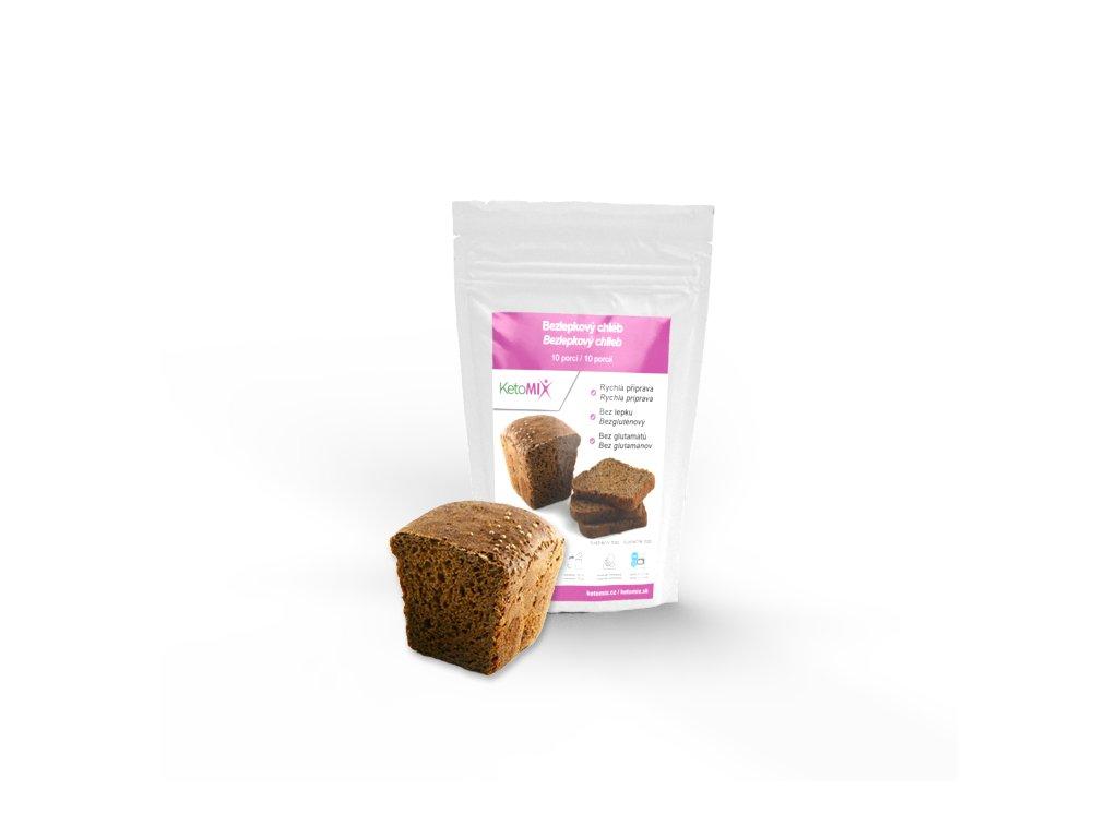 proteinový bezlepkový chléb od KetoMix