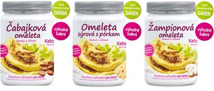 proteinová omeleta