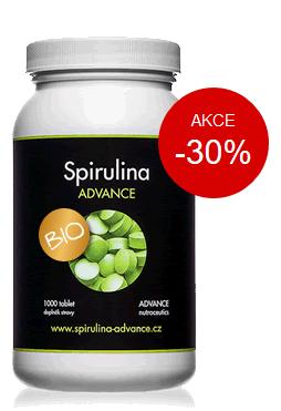spirulina tablety