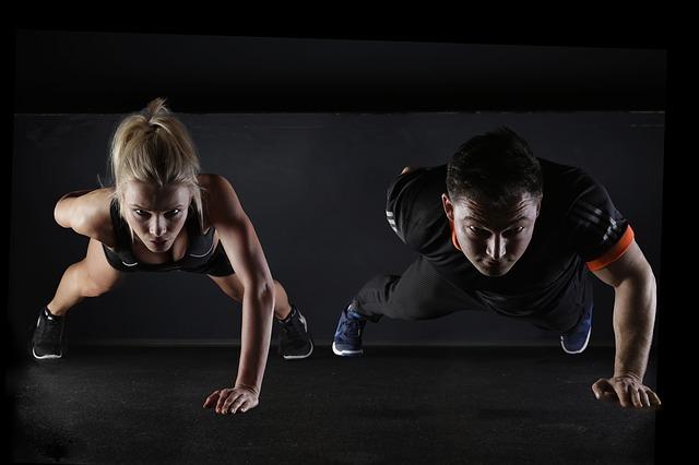 Proteinové nápoje a cvičení