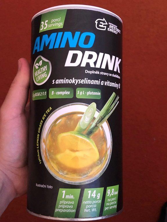 Amino drink dodává energii a kvalitní aminokyseliny Restart Energy