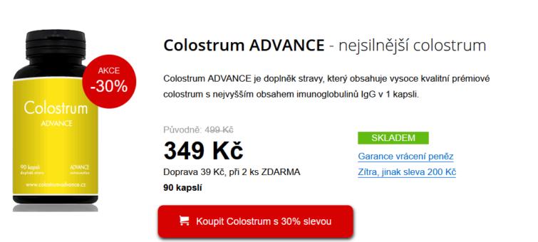 Colostrum recenze