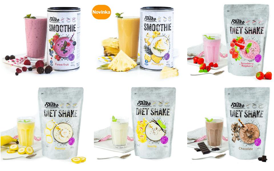 diet shake od chia shake
