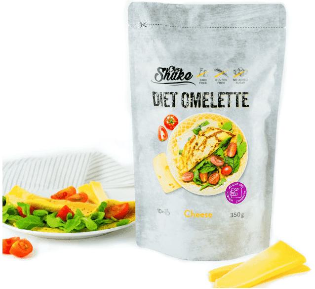 Dietní omeleta chia shake
