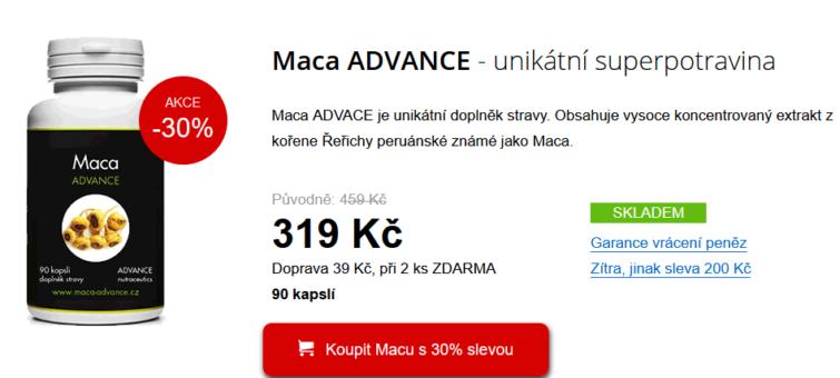 maca advance recenze