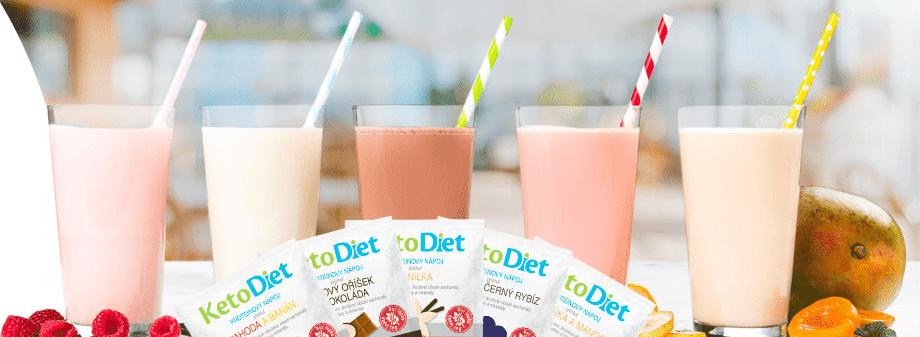 Proteinové nápoje KetoDiet