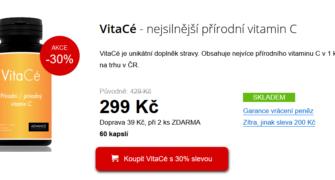 Recenze na VitaCé advance nutraceutics