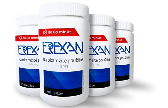 erexan - okamžitá podpora erekce