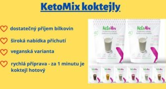 proteinový koktejl KetoMix