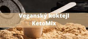 veganský koktejl KetoMix