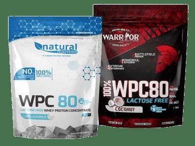 Protein bez laktózy WPC 80 NaMaximum