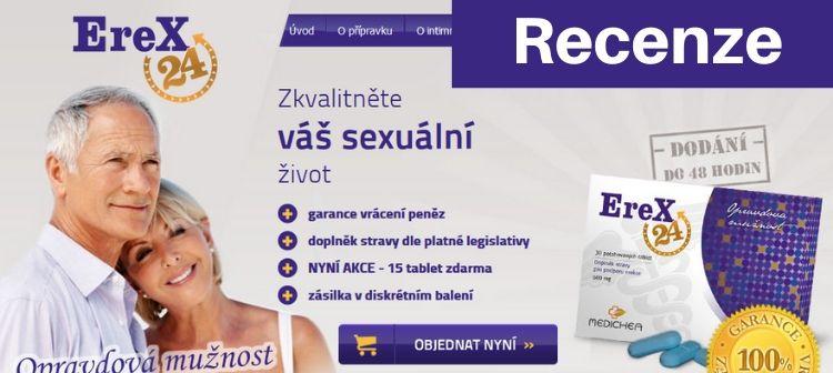 Nejlepší prášky na erekci Erex24