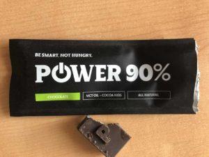 powerlogy čokoládová tyčinka - hořká