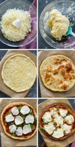 příprava keto pizzy