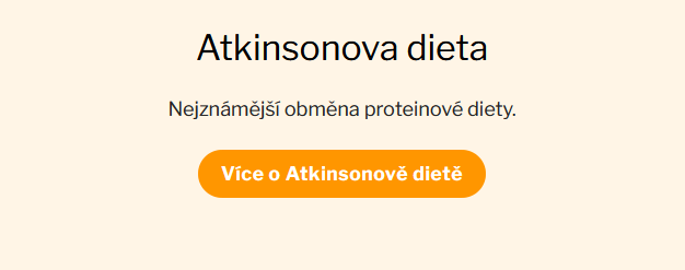 Atkinsonova dieta Chiashake