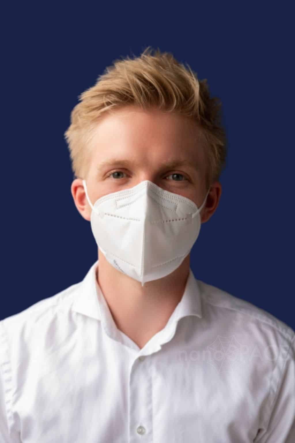 Nano respirátor Spurtex - filtrace 98,5 % FFP2