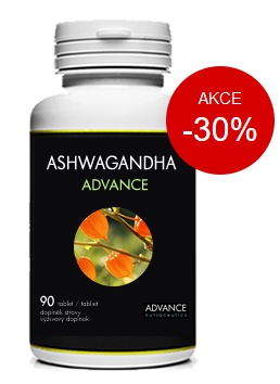 Balení doplňku stravy Ashwagandha ADVANCE