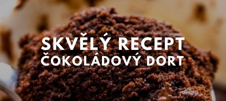 čokoládový keto dort