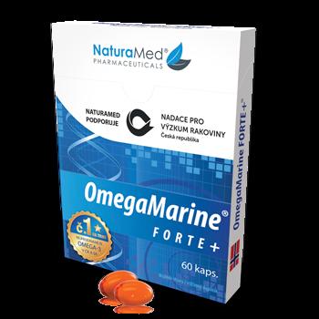 NaturaMed OmegaMarine Forte balení zdarma