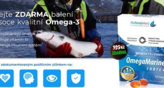 OmegaMarine Forte+ balení zdarma