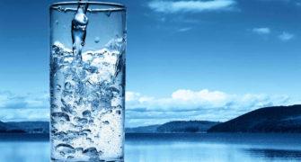 sklenice Ionizované vody
