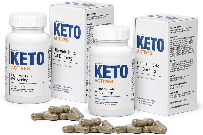 keto actives výhodné balení a pilulky